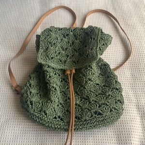 Adorable New crocheted back pack